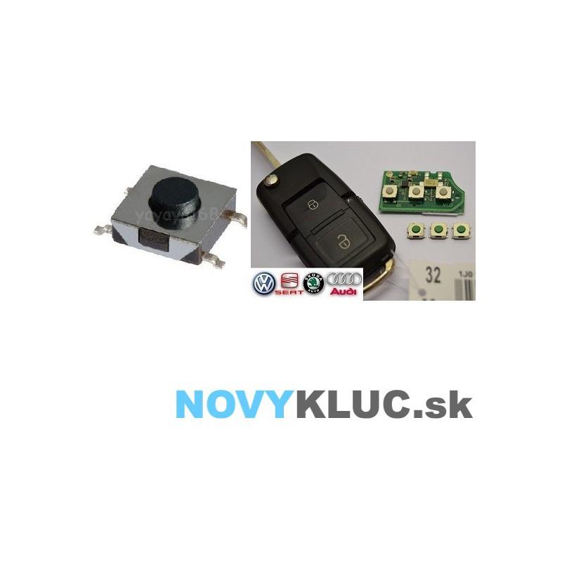 Mikrospínač SMD 6,2x6,2x3,1mm