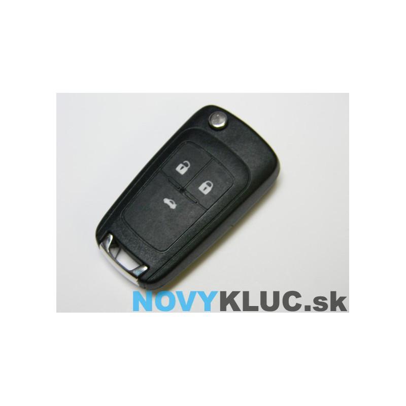 Opel 3 tlačidlový + planžeta HU100