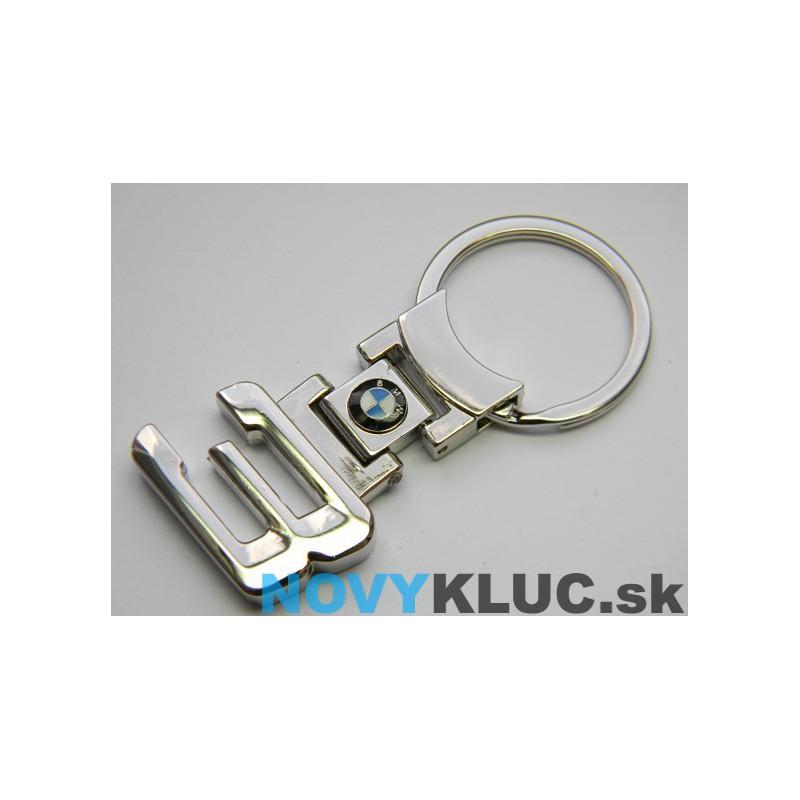 Kovová kľúčenka s logom BMW3