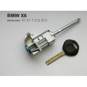VLOŽKA ZÁMKU S KĽÚČOM BMW X6