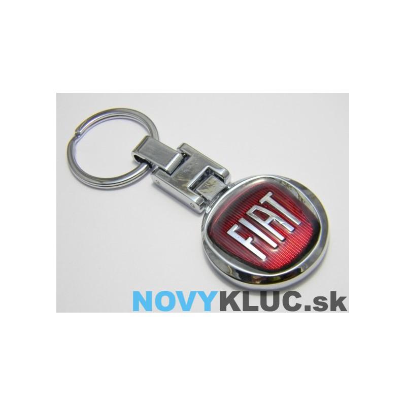 Kovová kľúčenka s logom FIAT