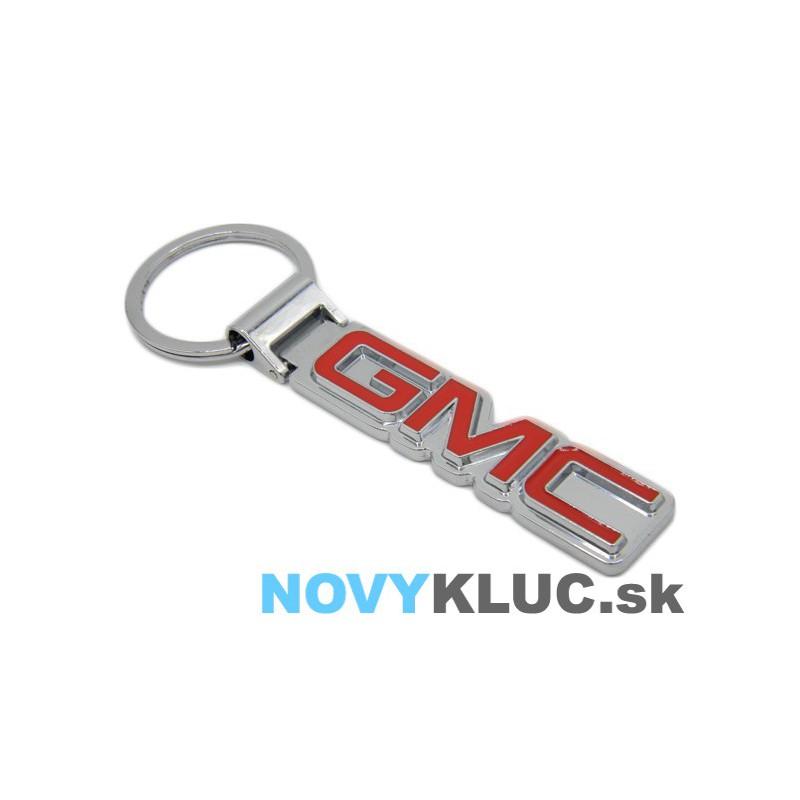 Kovová kľúčenka s logom GMC