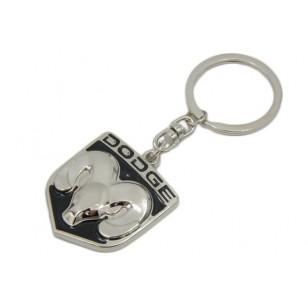 Kovová kľúčenka s logom DODGE