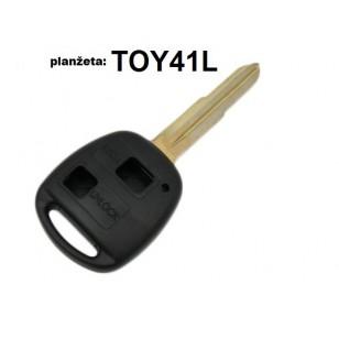 Toyota 2 tlačidlový + TOY41L planžeta